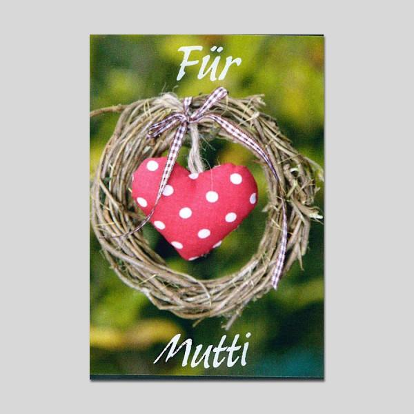 Minikarte Muttertag