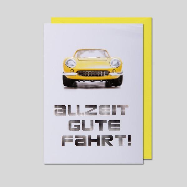 Umschlagkarte Führerschein