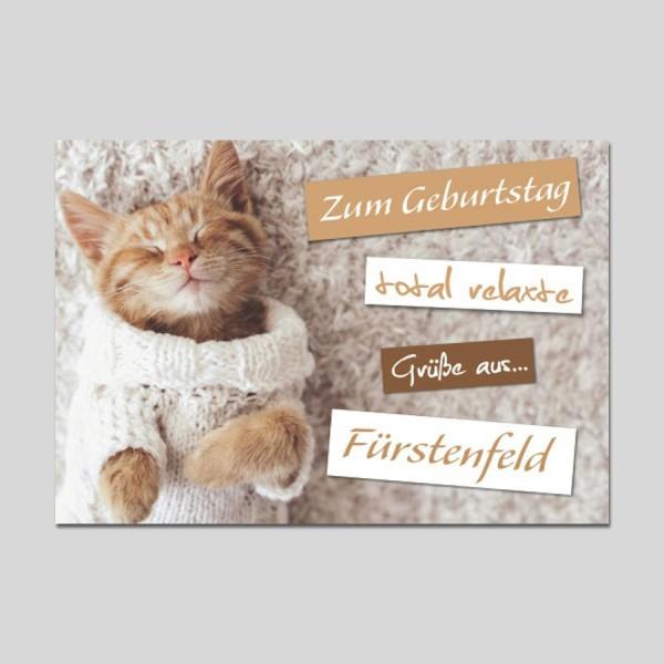 City-Cards Katze