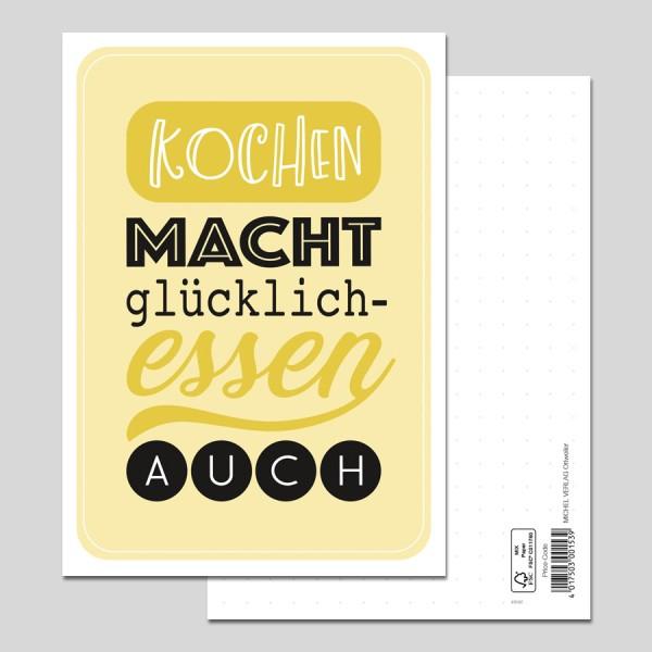 Postkarte Spruch