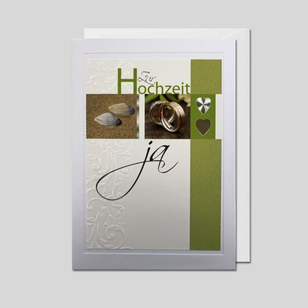 Hochzeitskarte DIN A5