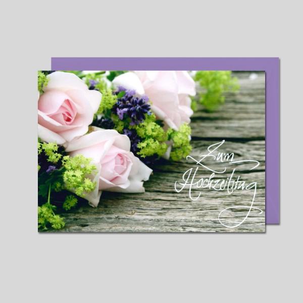 Fotokarte Hochzeitstag