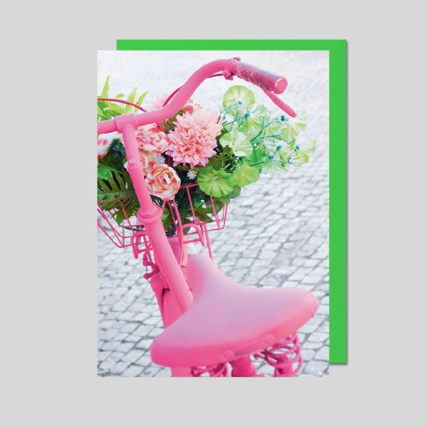 Fotokarte Fahrrad