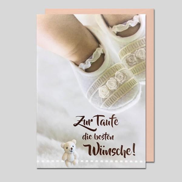 Umschlagkarte Zur Taufe