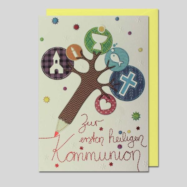 """Patchwork """"Kommunion"""""""