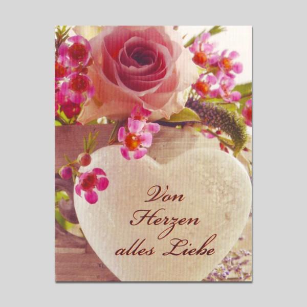 Midikarte Alles Liebe