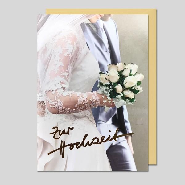 Umschlagkarte Zur Hochzeit