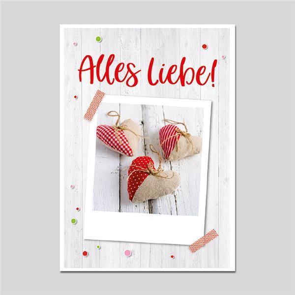 Minikarte Alles Liebe