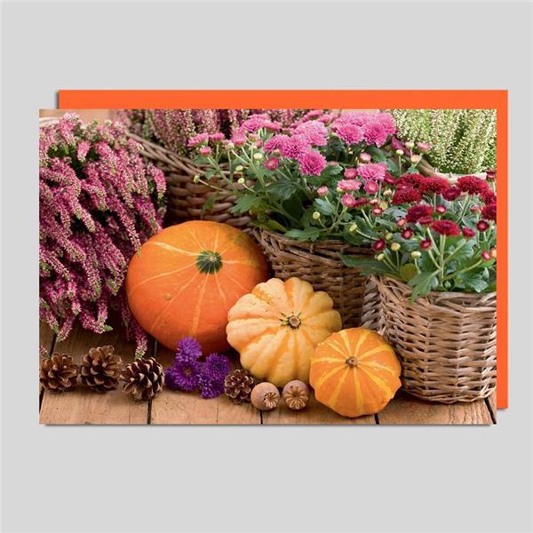 Fotokarte Herbst