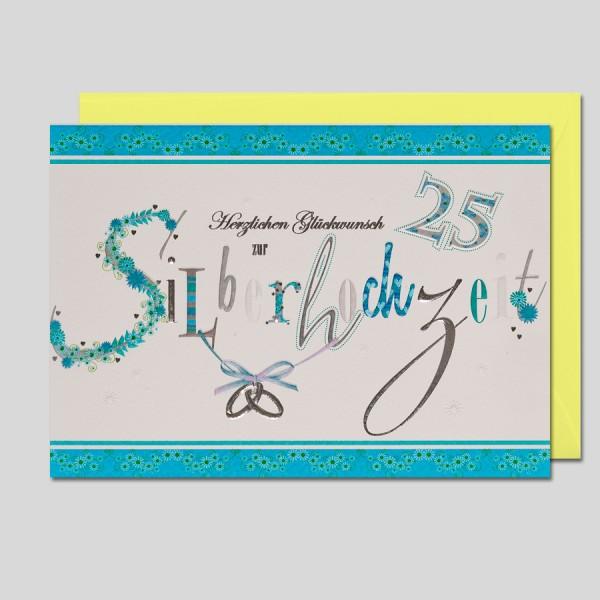 Letters Silberhochzeit