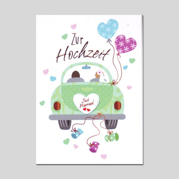 Minikarte Gratulatione by Alessia Hochzeit