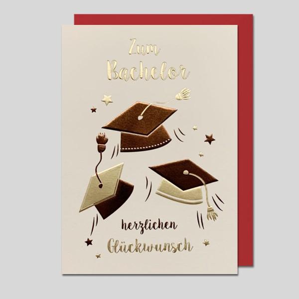 Glückwunschkarte Bachelor