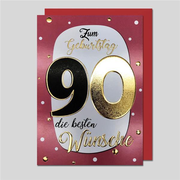 """Best Age """"90"""" Zahlengeburtstag"""