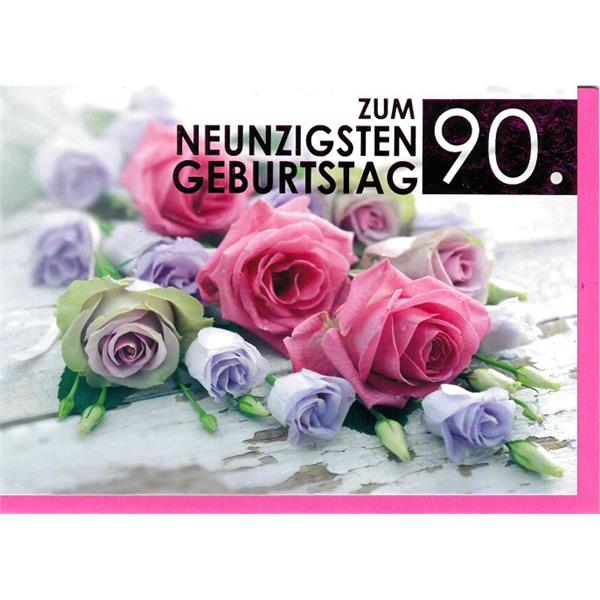 Fotokarte zum 90. Geburtstag
