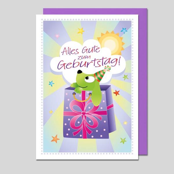 Glückwunschkarte Alles Gute zum Geburtstag!