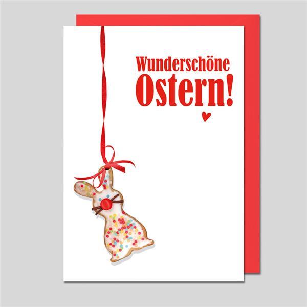 Umschlagkarte Wunderschöne Ostern