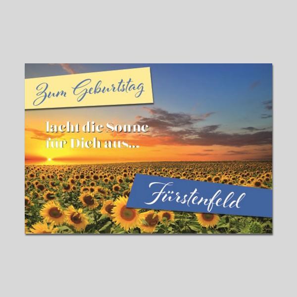City-Cards Sonnenblumen