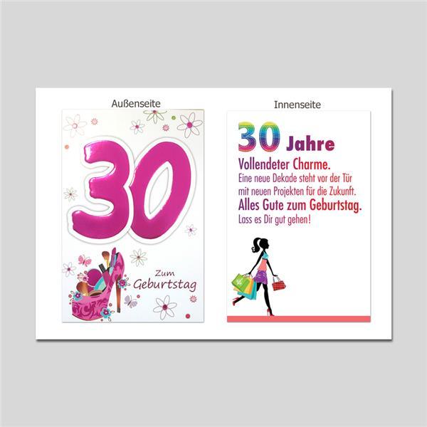 Age 30. Geburtstag