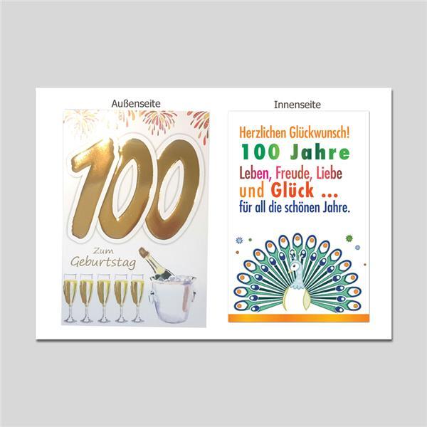Age 100. Geburtstag