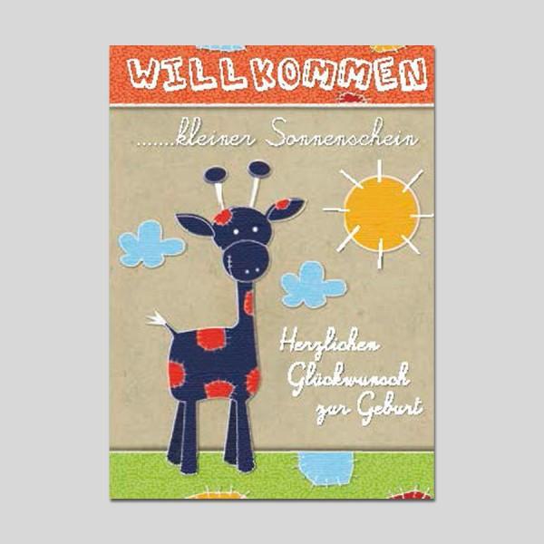 Minikarte Nachwuchs mit Klammer