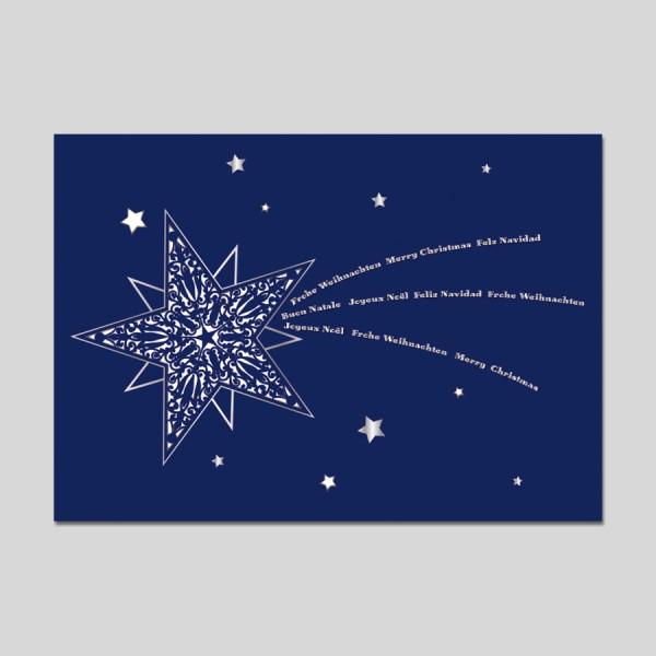 Laserkarte Weihnachten