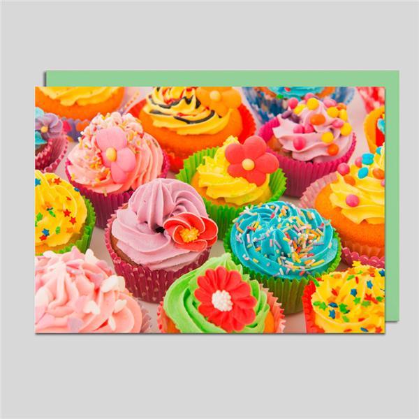 Fotokarte Cupcakes