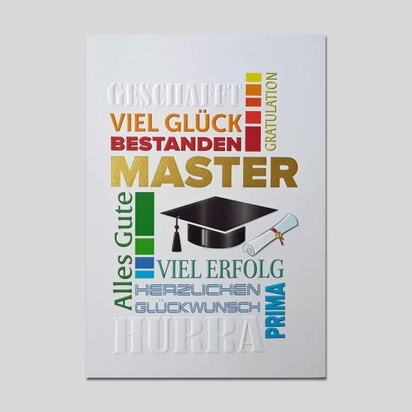 Umschlagkarte Master
