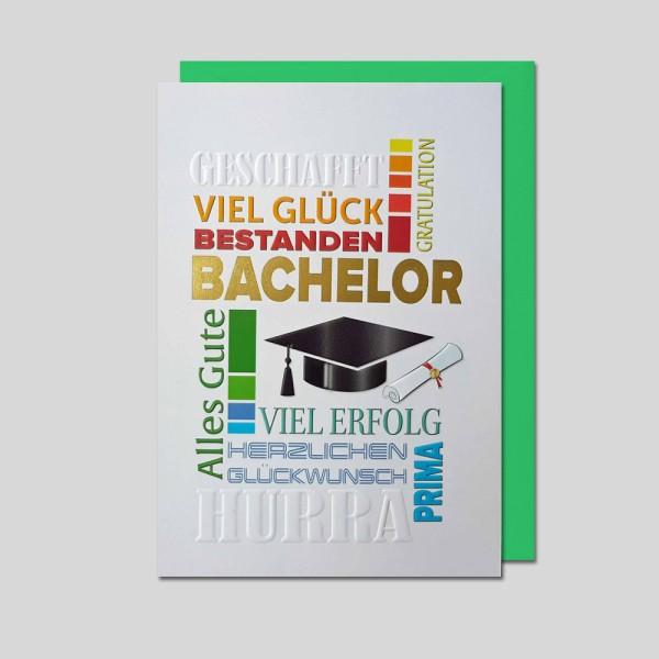 Umschlagkarte Bachelor