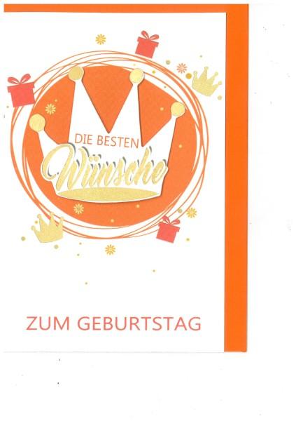Glückwunschkarte Geburtstag