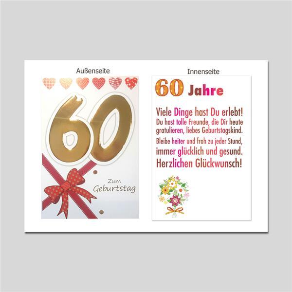 Age 60 Geburtstag Age Serien Michel Verlag Best Of Cards
