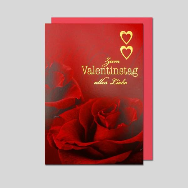 Fotokarte Valentinstag