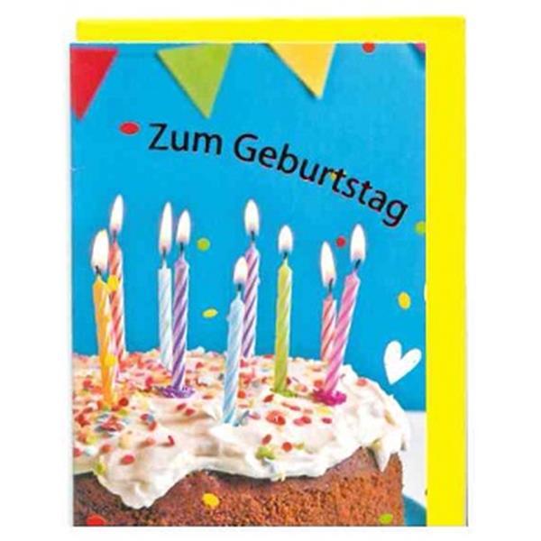 Klammerkärtchen Zum Geburtstag