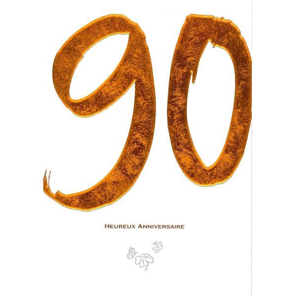 Heureux 90. Anniversaire