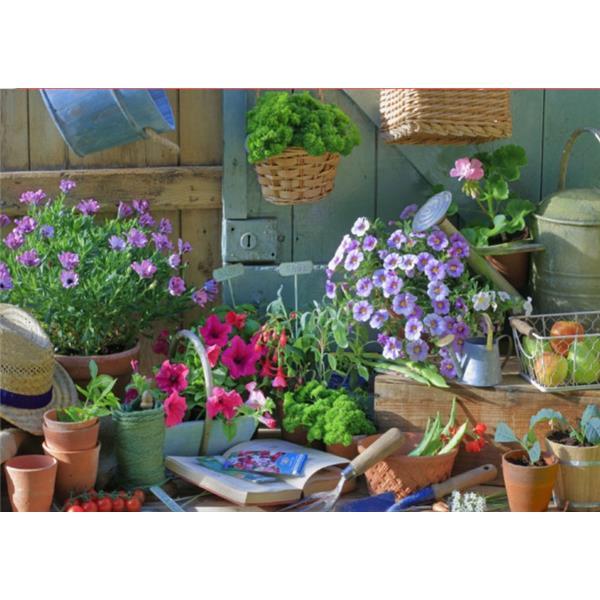 Fotokarte Garten