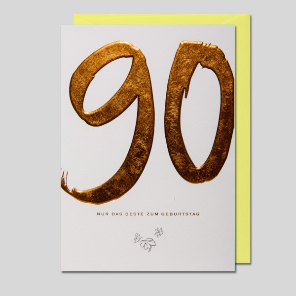 KalliGraphik 90. Geburtstag