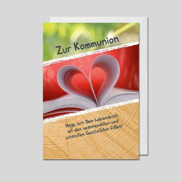 Umschlagkarte Kommunion