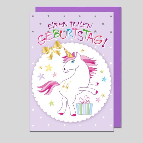 Glückwunschkarte Einen tollen Geburtstag!
