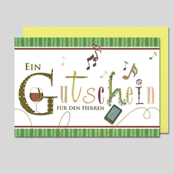 Letters Gutschein