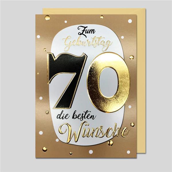 """Best Age """"70"""" Zahlengeburtstag"""