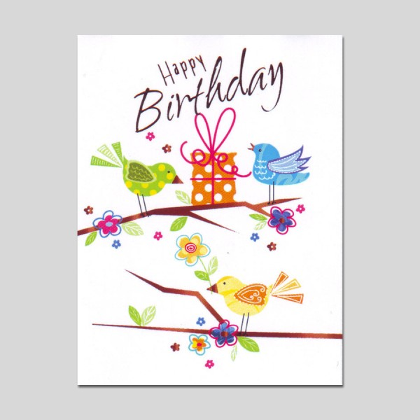 Minikarte Gratulatione by Alessia Happy Birthday