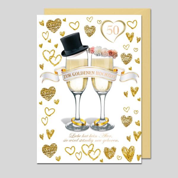 Glückwunsch Goldene Hochzeit