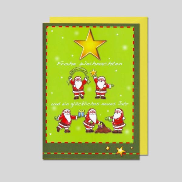 Fotokarte Weihnachten mit Doppeltext