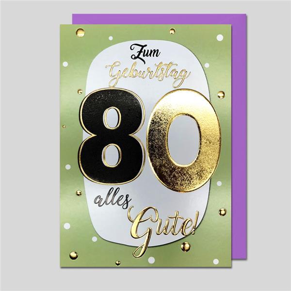 """Best Age """"80"""" Zahlengeburtstag"""