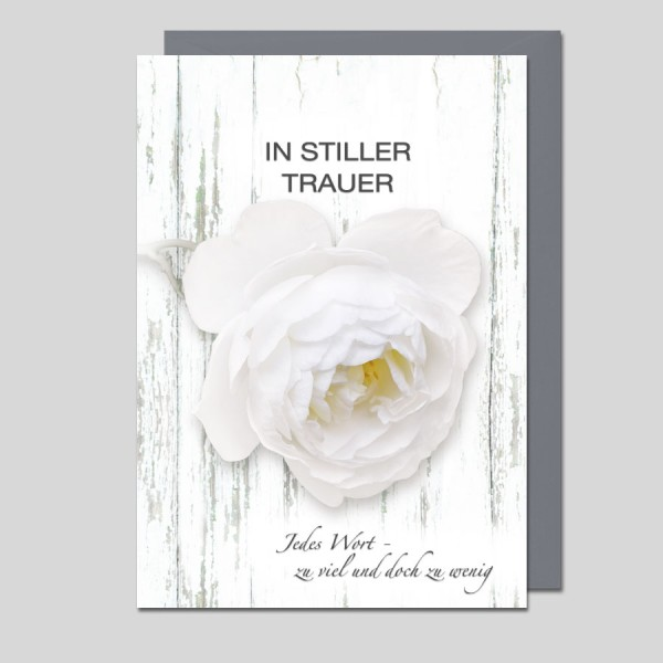 Trauerkarte In stiller Trauer