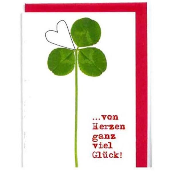 Minikarte Viel Glück