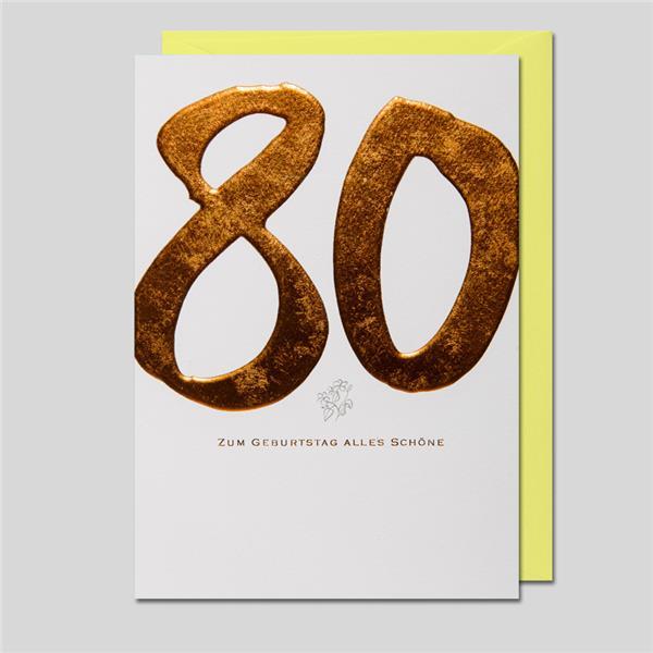 KalliGraphik 80. Geburtstag