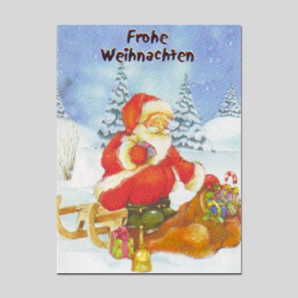 Minikarte Weihnachten