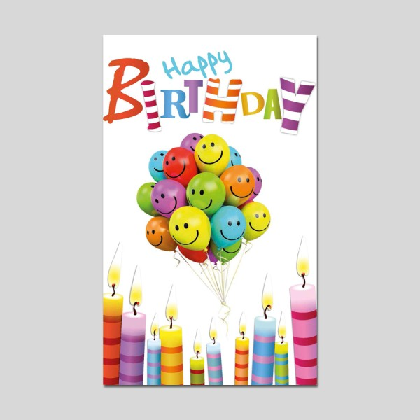 "HAPPY GREETINGS ""Happy Birthday"""