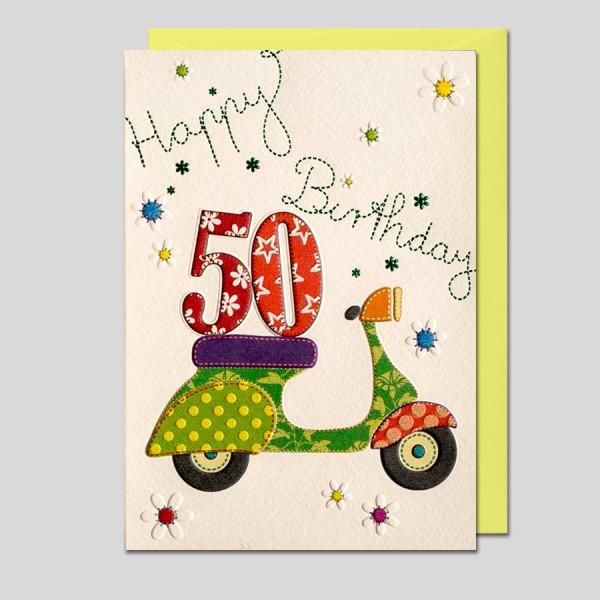 """Patchwork """"50. Geburtstag"""""""