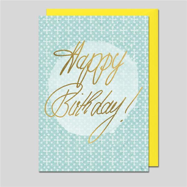 Minikarte Happy Birthday!